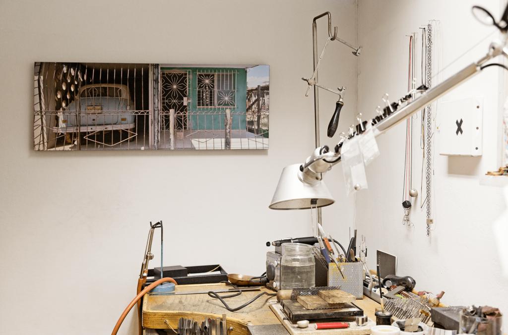 Galerie Isabella Hund, Werkstatt