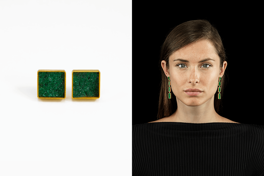 Michael Becker, Earrings, Isabella Hund Gallery