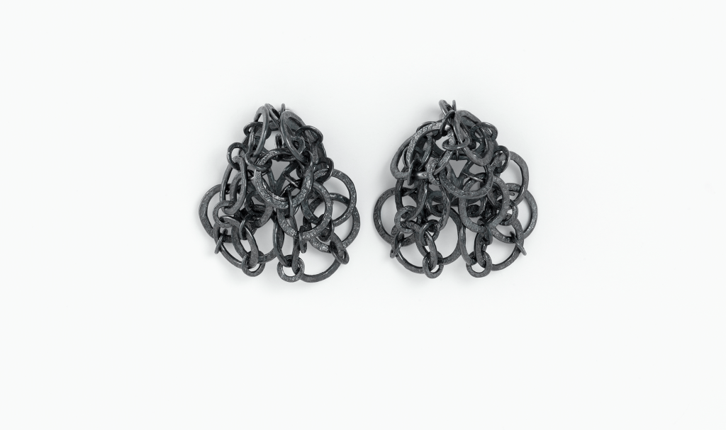 Nik Sardanov, Earrings, Isabella Hund Gallery